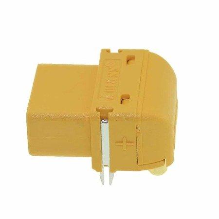 Złącze XT60-PW - wtyk + gniazdo kątowe - kompletne złącze AMASS